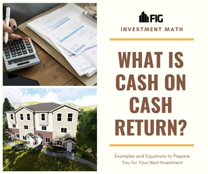 what is cash on cash return