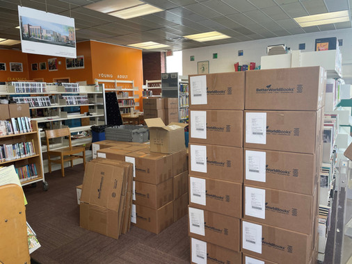 Park Library To Cease Operations At Current Site May 21 In Preparation For Move To New Facility