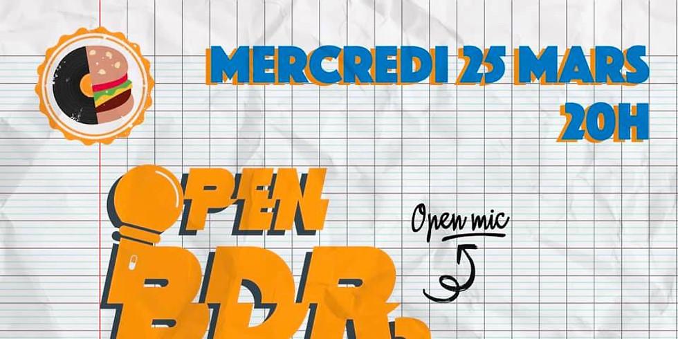 Mer. 25/03 : OPEN BDR#2 + MAAISEN
