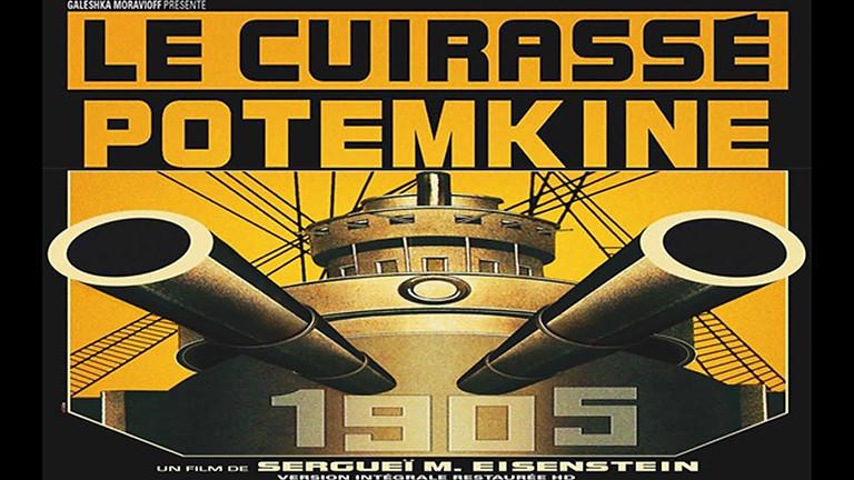 """Mer. 02/09 : CINE CONCERT """"Le Cuirassé Potemkine"""" (S. Eisenstein) accompagné au piano par Pascal Pistone"""