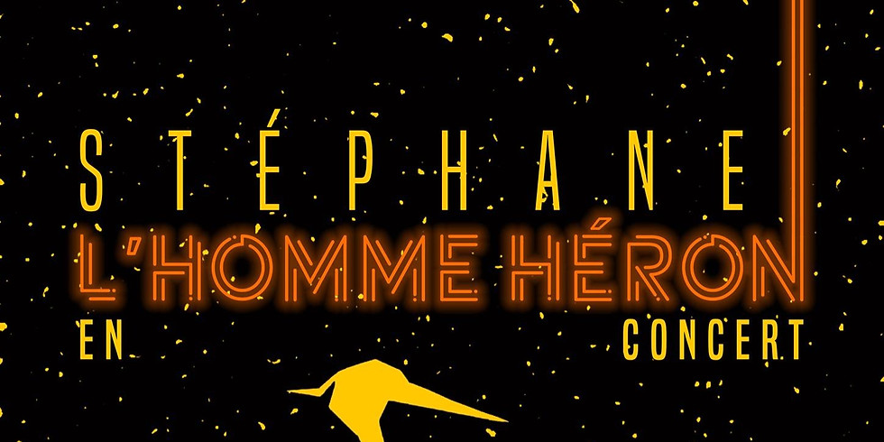 Mer. 22/01 : STEPHANE L'HOMME HERON