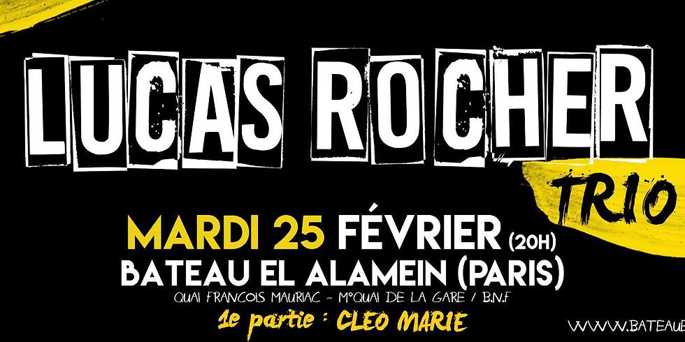 Mar. 25/02 : LUCAS ROCHER TRIO (+CLEO MARIE)