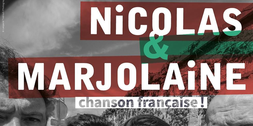 Sam. 25/01 : NICOLAS ET MARJOLAINE