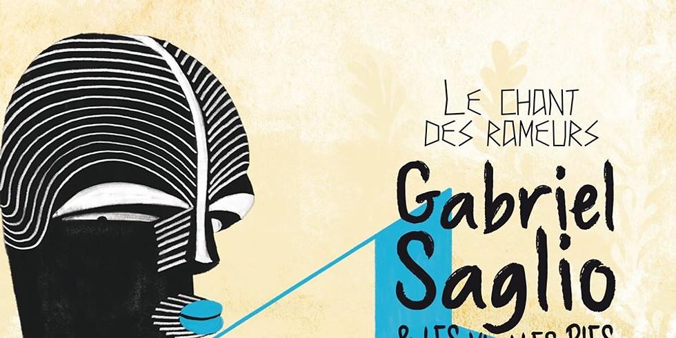 Jeu. 23/07 / GABRIEL SAGLIO & LES VIEILLES PIES