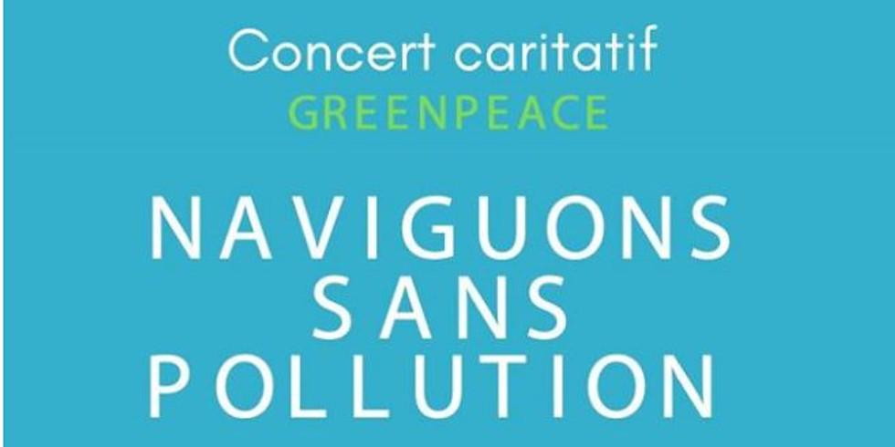 """Jeu. 12/12 : waldden + Dernier rang + Ghost of liberty rock / Concert Greenpeace """"Naviguons sans pollution"""""""
