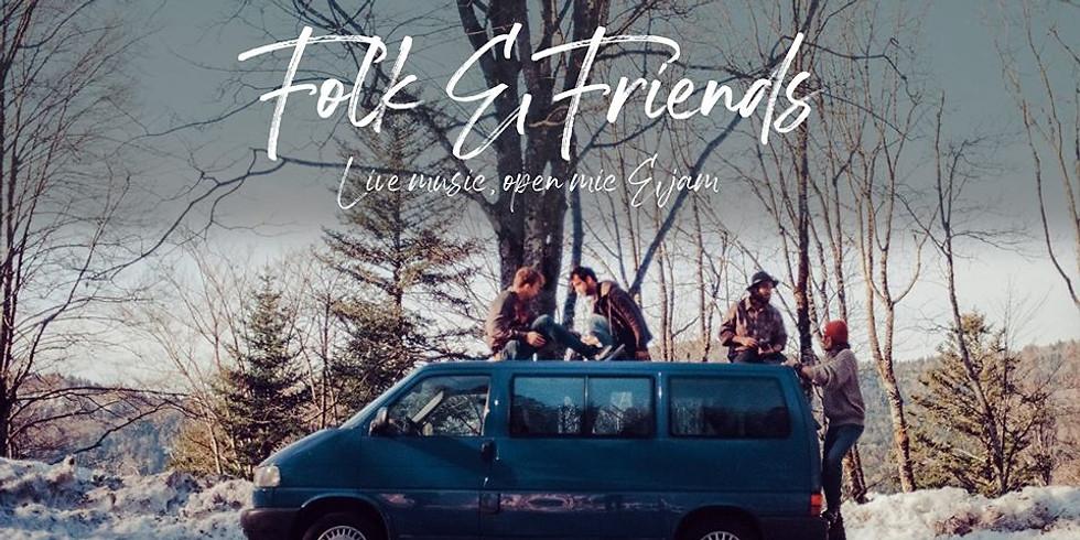 Jeu. 09/04 : FOLK & FRIENDS #3- Open mic & showcase