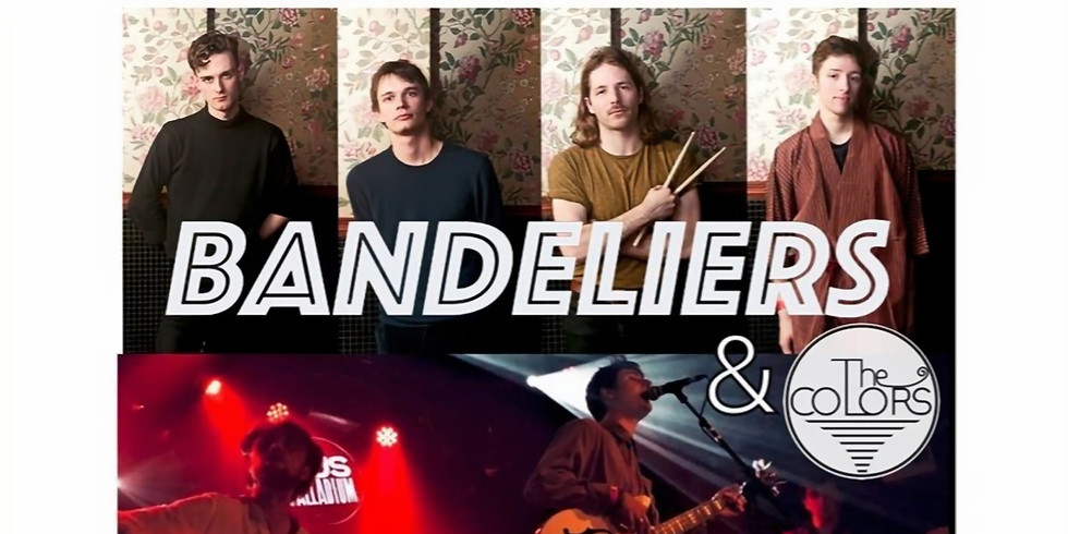 Mer. 26/02 : BANDELIERS X THE COLORS
