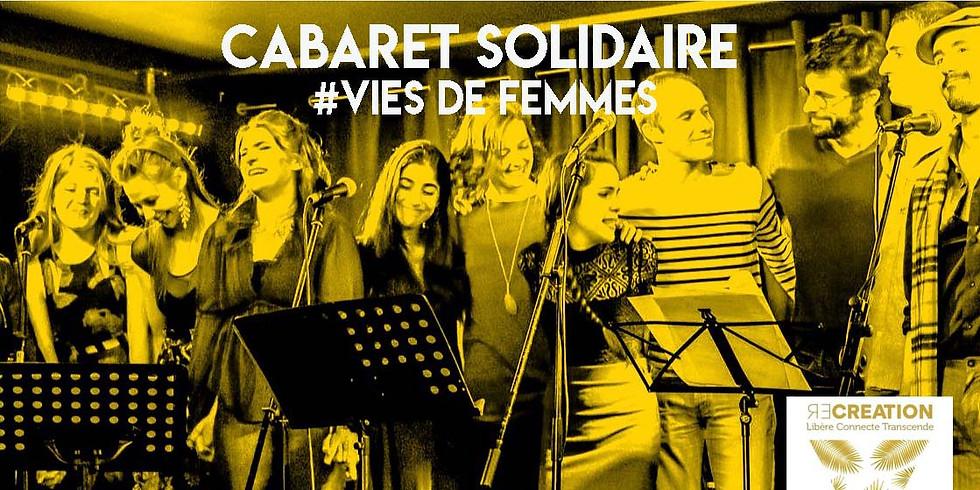 Mer. 13/11 : CABARET SOLIDAIRE # VIES DE FEMMES