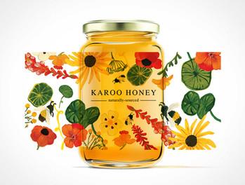 Karoo Honey Label