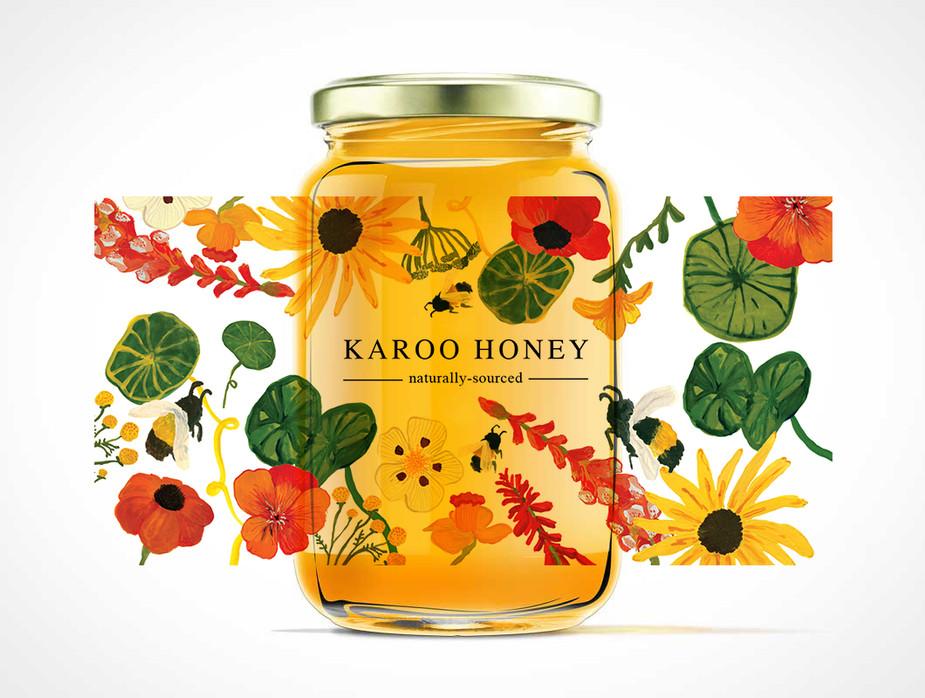 Karoo Honey Label Design