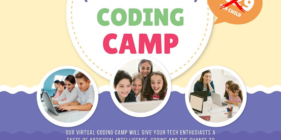 Coding Club's Summer Camp
