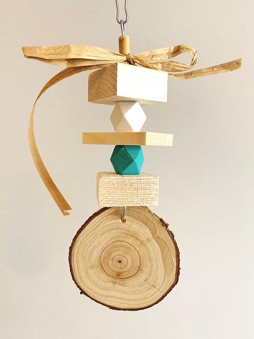 Pine Disc Chew Toy