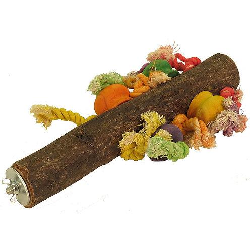 Wood & Rope Perch (40cm)