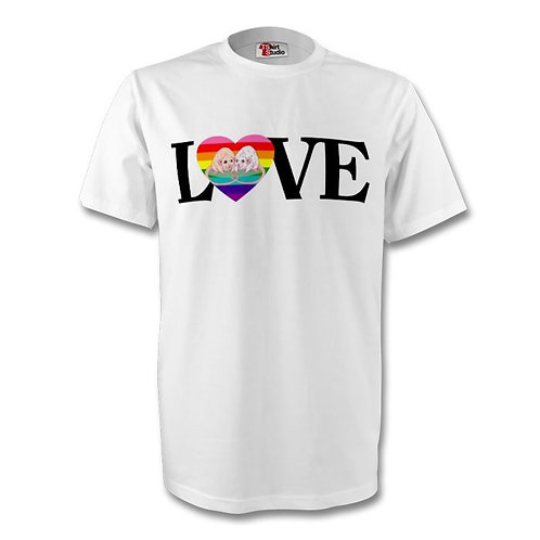 THE TREVOR PROJECT Fundraiser: LOVE tshirt