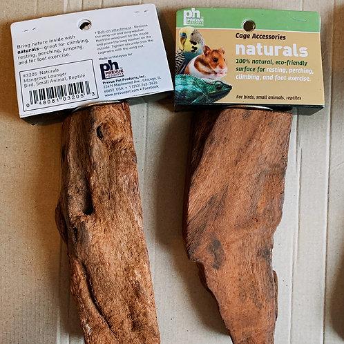 Natural Mangrove Wood Perch