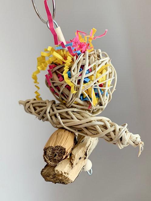 Vine, Banana Leaf & Driftwood Natural Hanging Toy