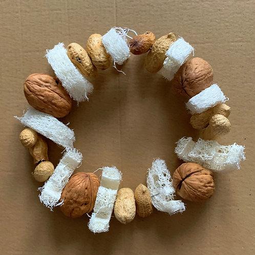 Peanut, Walnut & Loofah Foraging Ring