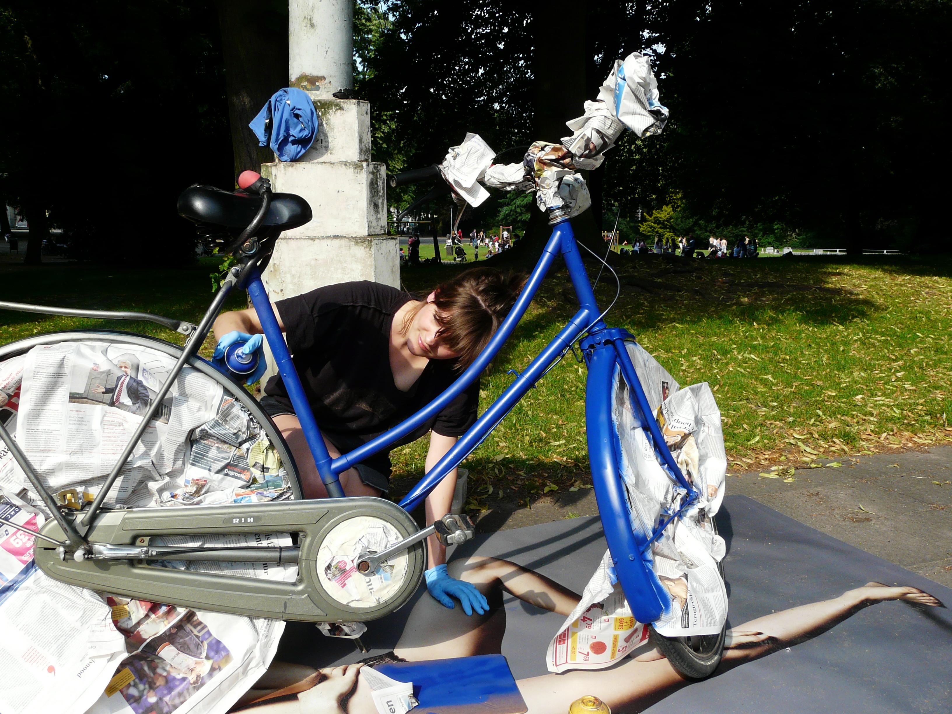 Paint your bike