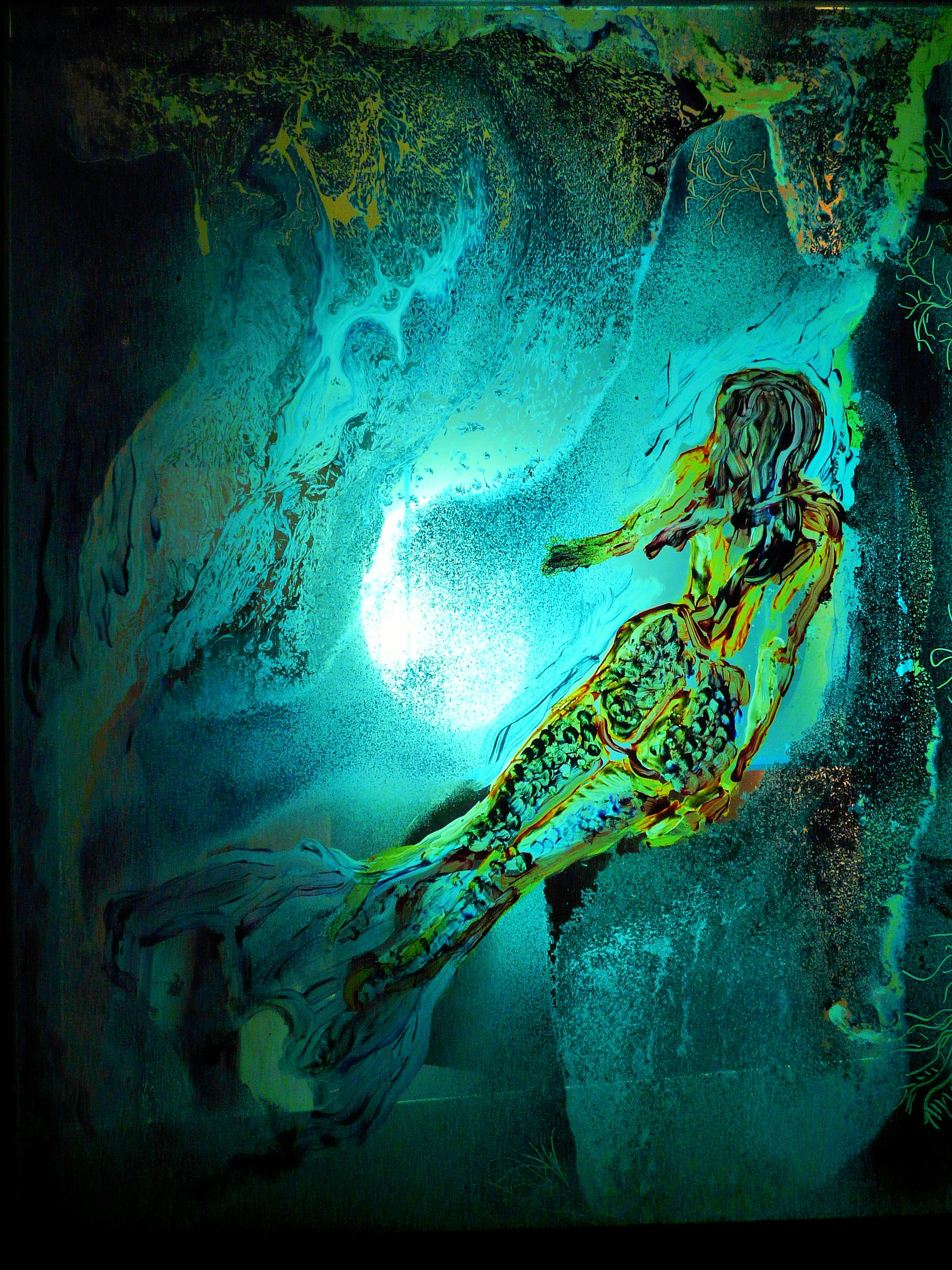 the mermaid (at night)