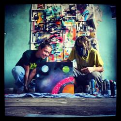 Personal graffiti workshop
