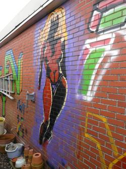 first figure in graffiti