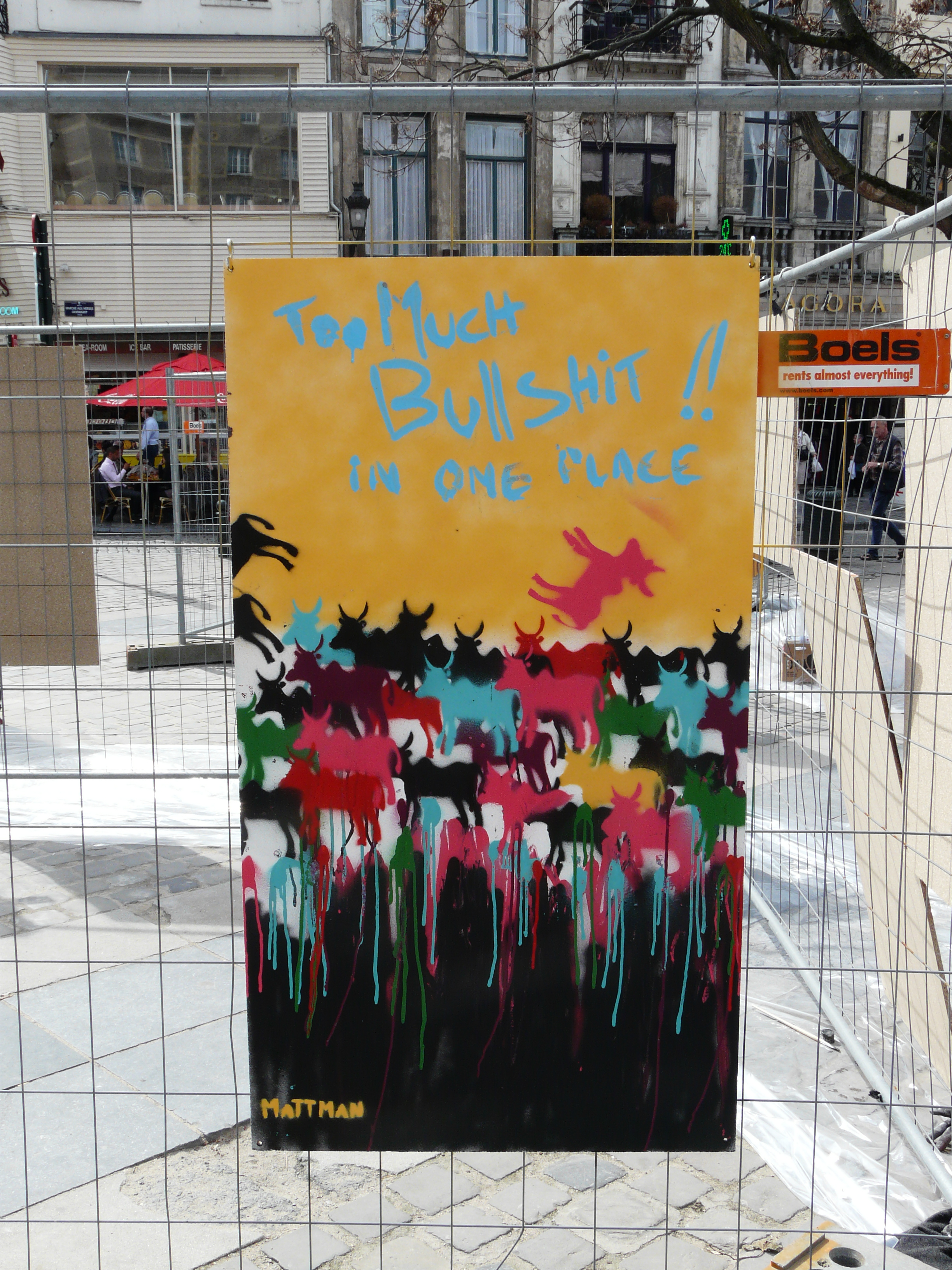 Life graffiti at your event