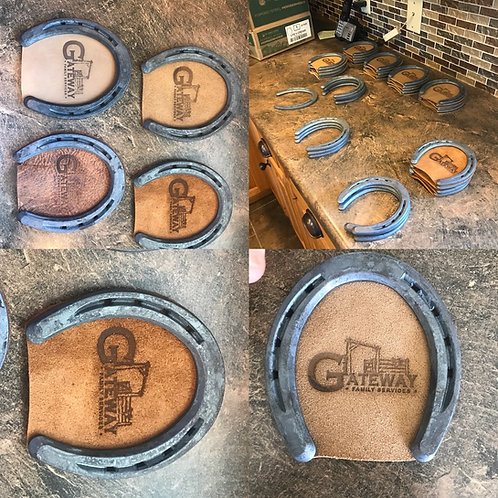 One Horse shoe Coaster