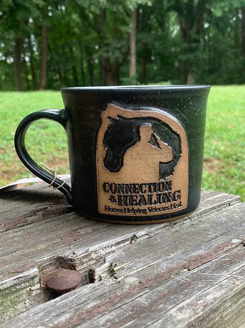 Custom Gateway Family Services Coffee Mug with Veteran Logo