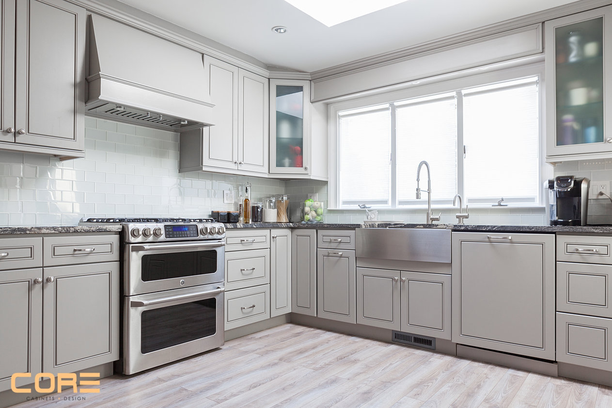 Grey Maple Kitchen Cabinets Cabinets