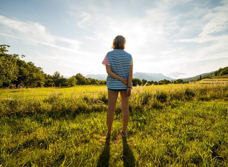 軽やかに歩くのに必要な条件:その1.歩く前の姿勢