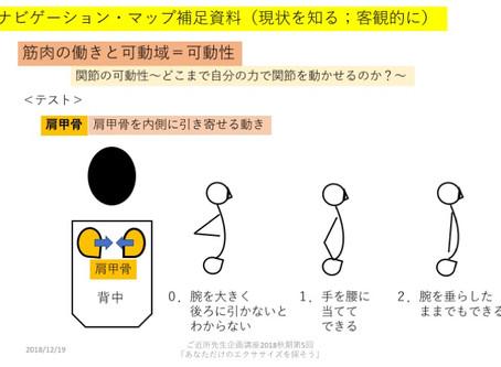 運動に抵抗感をもつあなたへ:4〜自分の身体の現状を知る(2)