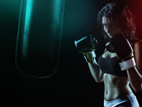 ダンスのステップとボクシング