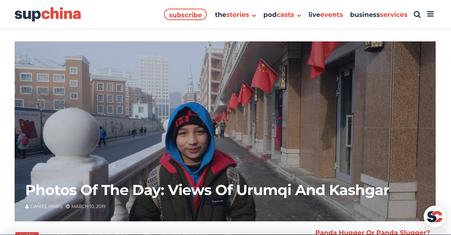 Views of Urumqi and Kashgar