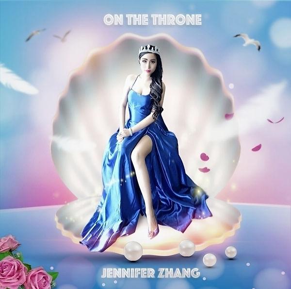 on the throne Jennifer Zhang album cover