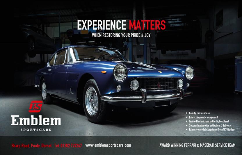 Emblem Sports Cars Branding