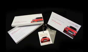 Personalised Audi Direct Mail Pack