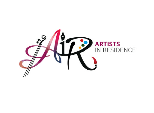 Artists in Residence brand created by Landmark Creative Studios