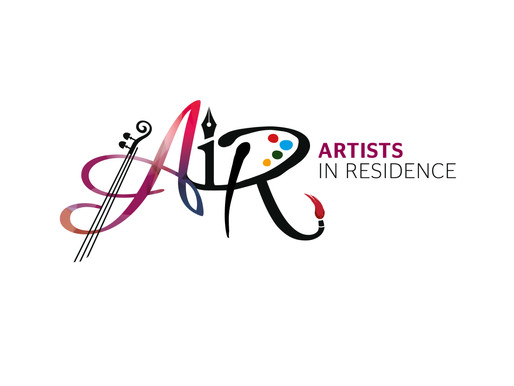 Artists in Residence brand created by Landmark Creative Studios
