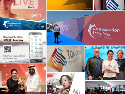 Another successful year at #GESF for Landmark Creative
