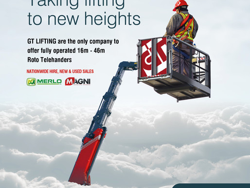 Landmark Creative gave GT Lifting  the advertising lift it needed