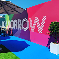 Tomorrow Summit Wall Graphics