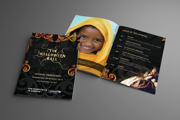 UNICEF Halloween Ball Programme