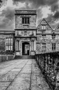 Rufford Abbey - a monochrome take.