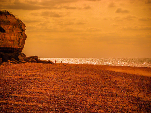 Late Afternoon On A Norfolk Beach