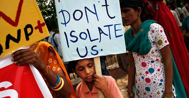 HIV womens rights india stigma