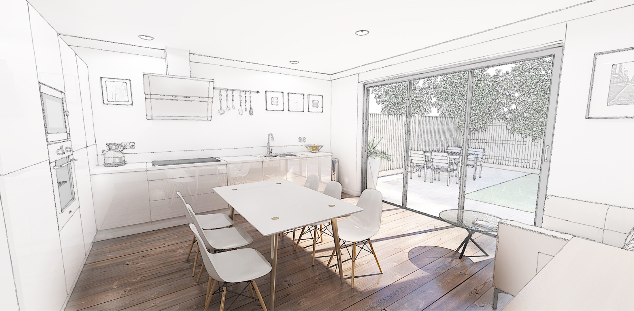 87 Alfred rd - Internal Model sketch ove