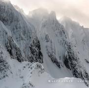 Winter, Aleutian Mountain Range, no.16