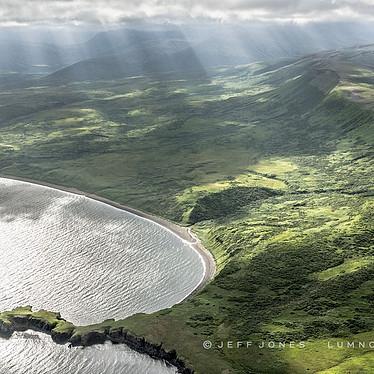 Sunbeams Along Coastline