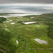 Valley Drains into Pacific Ocean
