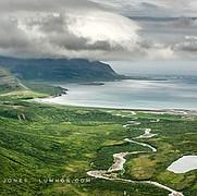 Aleutian Range and Pacific Ocean, no.4